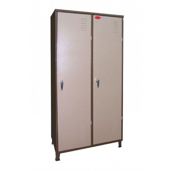 ארון מתכת למשרד 2 דלתות
