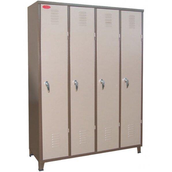 ארון מתכת למשרד 4 דלתות לכל האורך