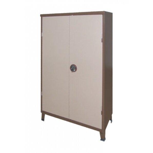 ארון מתכת נמוך 2 דלתות