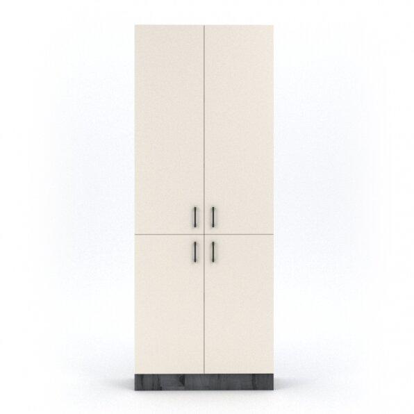 ארון 4 דלתות פתיחה עם טריקה שקטה