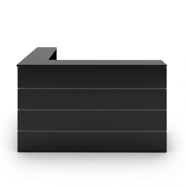 דלפק קבלה מדגם סהר שחור