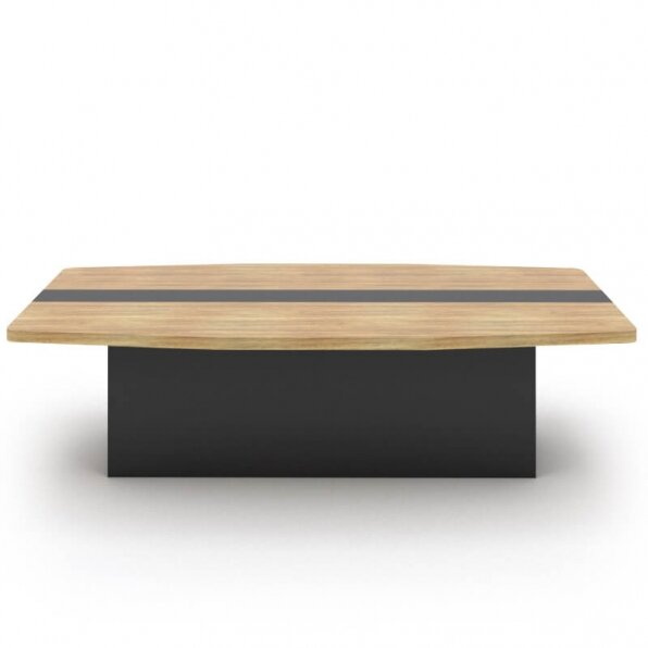 שולחן ישיבות יוקרתי עם רגל במה