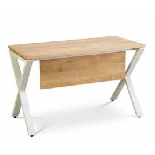 שולחן מזכירה רגל X