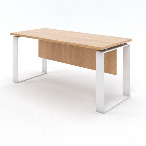 שולחן מזכירה רגליים חלון לבן