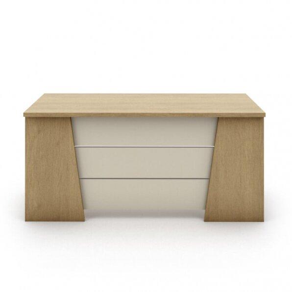 שולחן מיתר עם פלטה בז