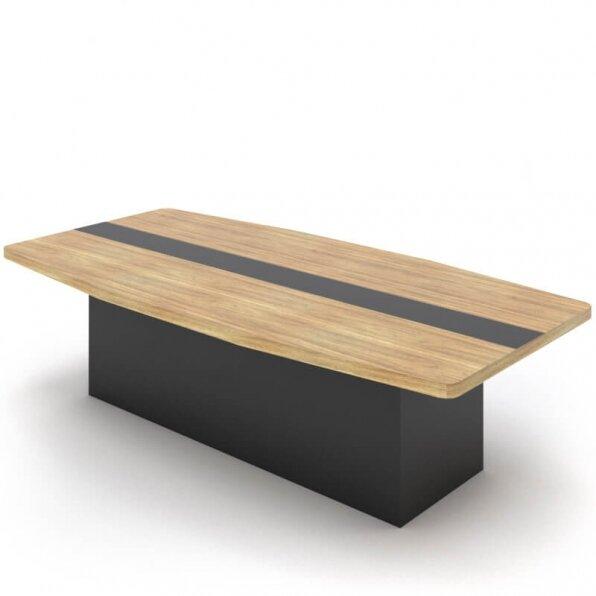 שולחן עם רגל במה