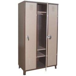 ארון מתכת משרדי 3 דלתות לכל האורך