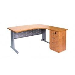 שולחן מזכירה ארגונומי אלפא